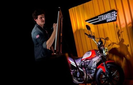 Ducati Designer 'I started the Scrambler project as an intern student!'  | Ductalk Ducati News | Scoop.it