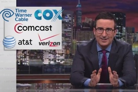 John Oliver Compares Comcast to a Drug Cartel, Says Net Neutrality Should Be Called 'Preventing Cable Company F-ckery' (Video) - TheWrap | Transmedia Storytelling for Business | Scoop.it