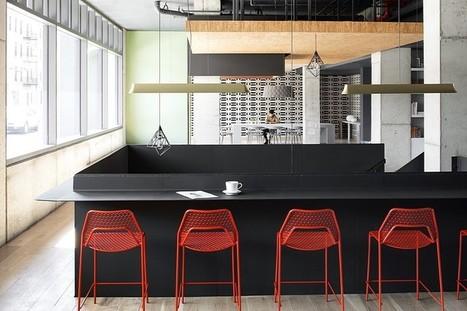 Boro Hotel in Long Island City / Grzywinski+Pons | Architecture and Interior Design | Scoop.it