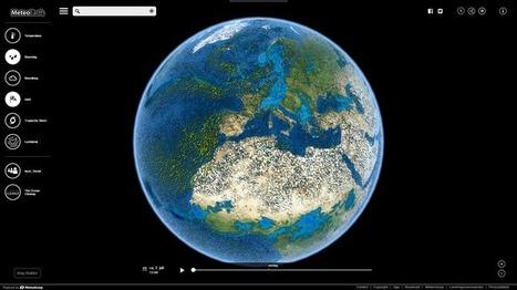 Edu-Curator: MeteoEarth: Bekijk het weer op de aarde in real time | ICT Nieuws | Scoop.it