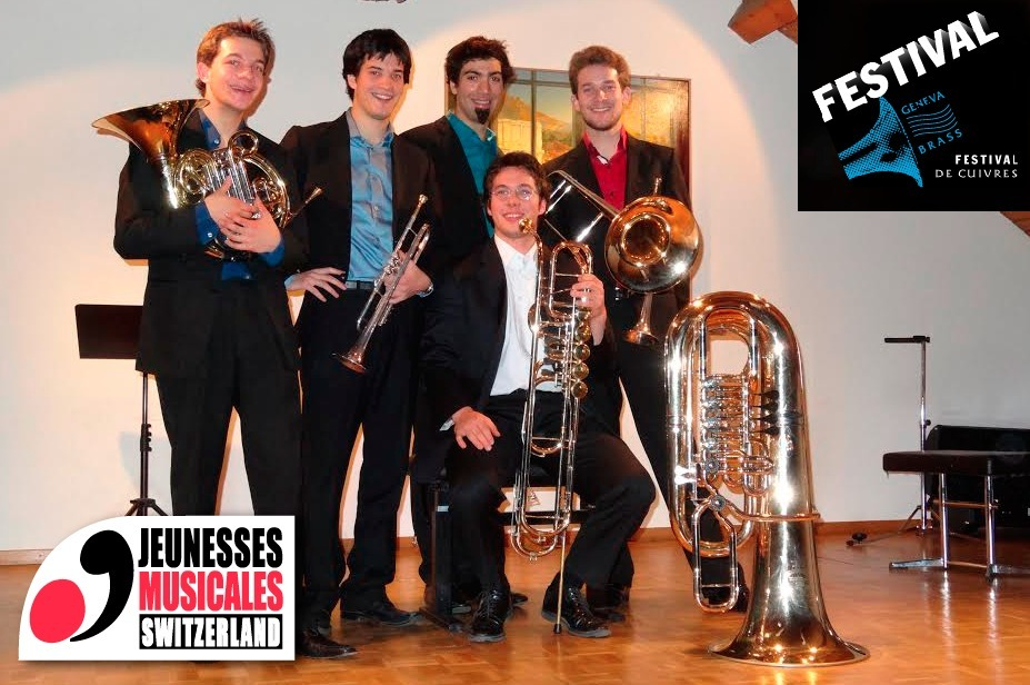 JM SWITZERLAND: Underground Brass Quintet to open the Geneva Brass Festival 2014