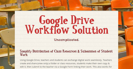 Google Drive Workflow Solution | TVT | Scoop.it