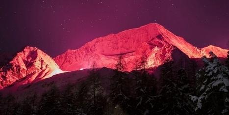 Berne: L'illumination des sommets valaisans fâche - 20 minutes.ch | Jean-Michel Cina - Media | Scoop.it