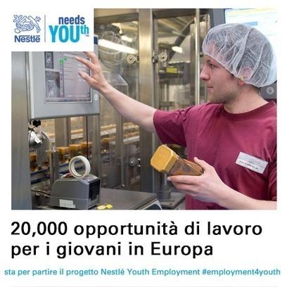 Twitter / NestleItalia: 20.000 opportunità di #lavoro ...   Lavoro   Scoop.it