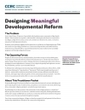 Designing Meaningful Developmental Reform | Adult Education in Transition | Scoop.it