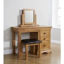 Bàn trang điểm gỗ sồi EUF 008   Nội thất phòng ngủ   EU Furniture Việt Nam   Scoop.it