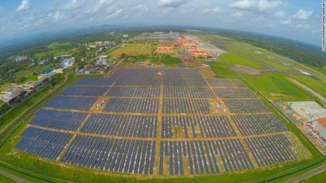 The first world's first solar-powered airport is in Cochin, India | Passionate About Science and Technology! | Scoop.it