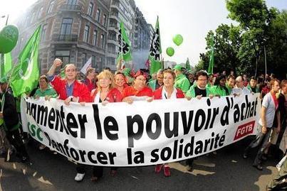 Des actions syndicales à Bruxelles le 29février | Belgitude | Scoop.it