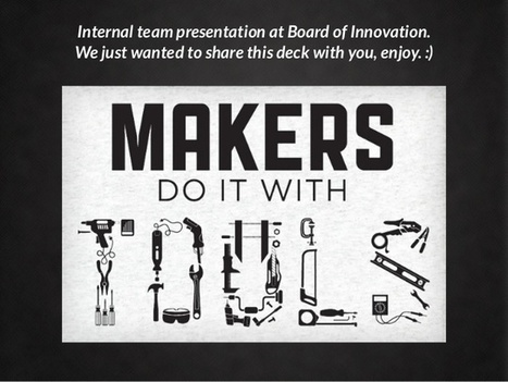 The Maker Movement by @boardofinno | Ngoding | Peer2Politics | Scoop.it
