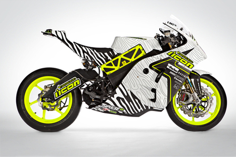 Introducing the 2013 Team ICON Brammo TTXGP Liveries | Brammo Electric Motorcycles | Scoop.it