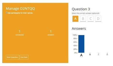 The Blog Teacher: QuizSocket - um prático system response para se usar em sala de aula   Education Technologies   Scoop.it   Scoop.it