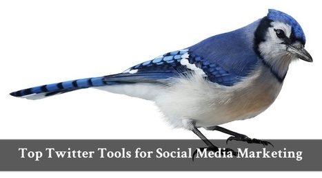 Top Twitter Tools for Social Media Marketing | Social Media and Mobile Websites | Scoop.it