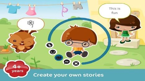 5 Amazing Digital Storytelling Apps for Kids With iPad - EdTechReview™ (ETR) | EdTechReview | Scoop.it