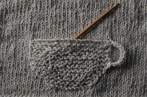 19 Impossibly Clever Knitting And Crochet Patterns | Weaving | Scoop.it