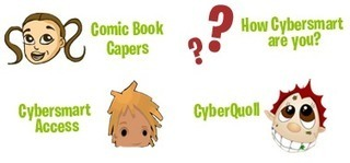 Cybersafety educational games, videos and information for children: Cybersmart | Hogan's Learning Links | Scoop.it