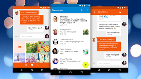 Google's Messenger Gives Android SMS a New Look, Advanced Features | News we like | Scoop.it