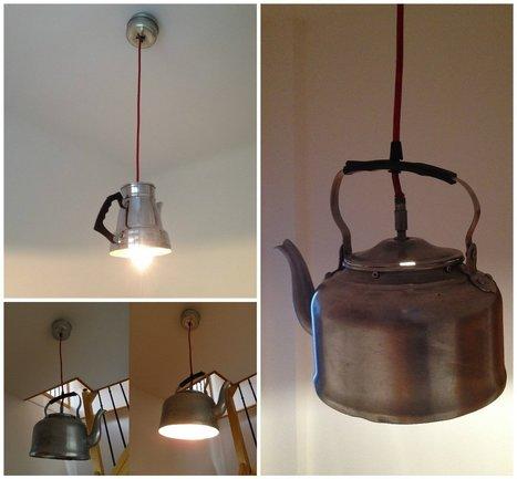 Kitchenware Into Lamps | Arts & numérique (ou pas) | Scoop.it
