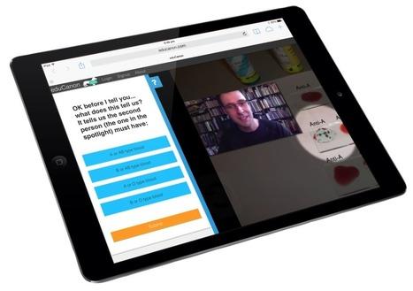 EduCanon. Créer facilement des vidéos interactives pour ses étudiants | Outils, logiciels et tutos : de la curiosité à l'indispensable | Scoop.it