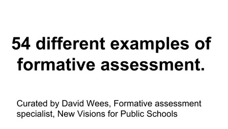 Formative Assessment - Google Drive | Assessing in vocational education | Scoop.it