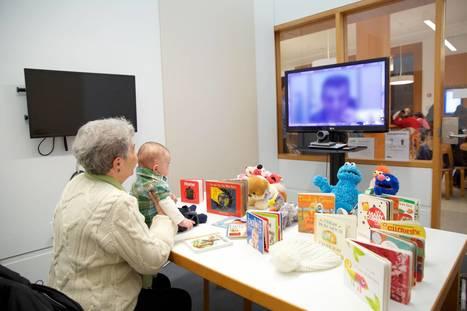 Telestory : quand la bibliothèque relie les enfants avec leurs parents en prison | BiblioLivre | Scoop.it