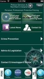 Nieuwe app politie Noord-Ierland | Apps in Law Enforcement | Scoop.it
