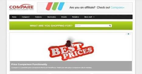 Best WordPress Price Comparison Themes 2014 | WordPress Themes | Scoop.it