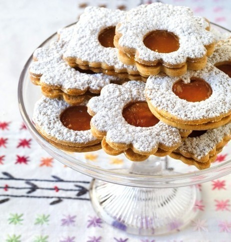 Cookie of the Day: Jammy Linzer Sandwich Cookies | Candy Buffet Weddings, Events, Food Station Buffets and Tea Parties | Scoop.it