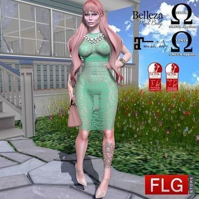 FLG - STORE - GIFT INWORLD ::FLG Sandy Lace Long Dress +... | Facebook | Finding SL Freebies | Scoop.it