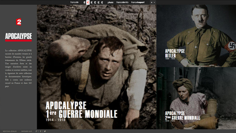 « Apocalypse » : France 2 sur le terrain de la Social TV ! - SocialTV.fr | Digital Experiences by David Labouré | Scoop.it