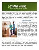 Moving Companies In Oshawa | Oshawa Movers (Moving Company) | Scoop.it