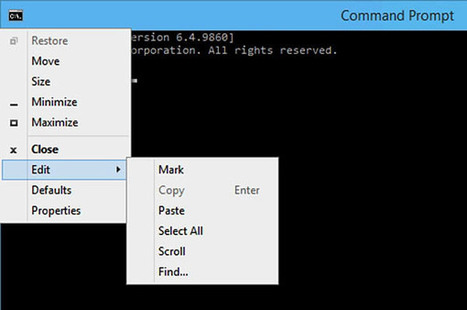 The #Windows 10 #Command Prompt includes new capabilities | Information #Security #InfoSec #CyberSecurity #CyberSécurité #CyberDefence | Scoop.it