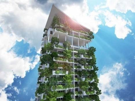 The World's Tallest Residential Garden – Clearpoint Tower | De mogelijkheden van onze daken | Scoop.it