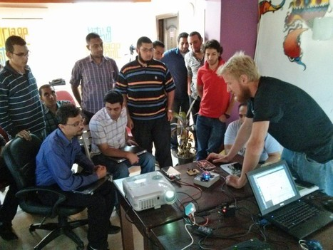 The Lotter brothers reach Cairo, first ARM/Raspberry Pi workshop in Africa a success! | Raspberry Pi | Scoop.it