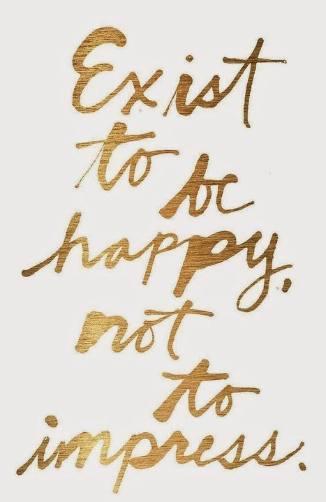 exist to be happy - Inspirational Quotes | allwaysbehappy | Scoop.it