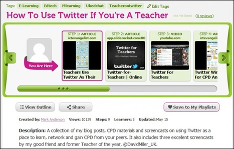 Mark Anderson's Blog » MentorMob – perfect for flipping learning? | Alive and Learning | Scoop.it
