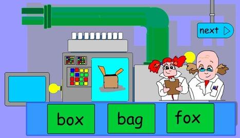 CVC machine | Early Learners Online Literacy Activities | Scoop.it