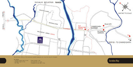 Location Map - DLF Hyde park Plots | Plots in New Chandigarh | DLF Hyde Park Mullanpur Chandigarh | Scoop.it