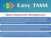 Easy Toronto Movers - FriendFeed   Easy Toronto Moving Movers Inc   Scoop.it