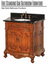 Free Standing Oak Bathroom Furniture | Home and Garden | Scoop.it