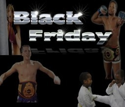Black Friday Training Specials (MMA, Muay Thai, BJJ, Ladies Boot Camp, Kids) | Top Flight Mixed Martial Arts Academy | MMA | Scoop.it