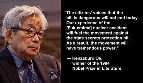 Kenzaburo Oe about the State Secrets Protection Bill... | Fukushima | Scoop.it