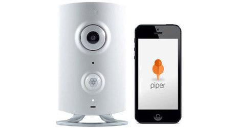 Piper, un système d'alarme et de vidéosurveillance compatible Z-Wave | Soho et e-House : Vie numérique familiale | Scoop.it