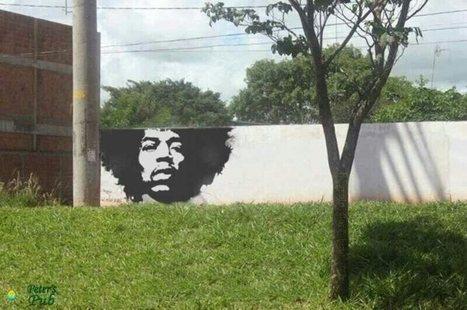 Genius graffiti.... | The brain and illusions | Scoop.it