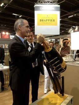 Actu restauration / CHAMPAGNE : Champagne Drappier sert les flacons géants | Champagne Actu | Scoop.it