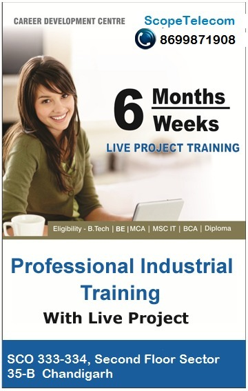 Industrial Training In Chandigarh | Telecom Company in Chandigarh | Scoop.it