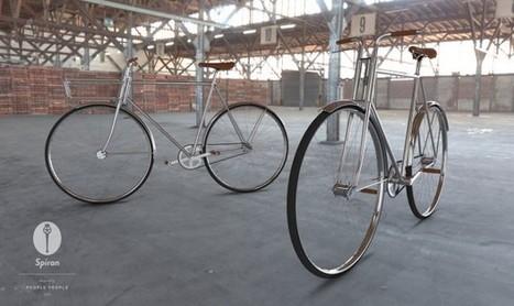 Vélo Spiran par les designers People People - Journal du Design | Mon Oeil | Scoop.it