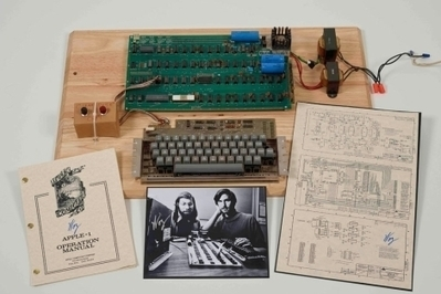 Christie's subasta un ordenador 'Apple I' por 303.339 euros | Denken Fabrik | Scoop.it