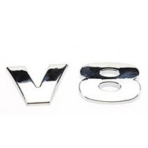 Car Accessories Shop –  Cool V8 Pattern Personalized Metal Car Decorative Stickers | +++ Car Accessories Shop | Scoop.it