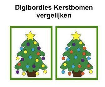 Digibordles: Kerstbomenvergelijken | Kerst | Scoop.it