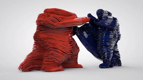Artist Eyal Gever Gives us All a 3D Printed Kick to the Chest! | DIY arduino et raspberry | Scoop.it